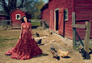 فستان كاتي بيري