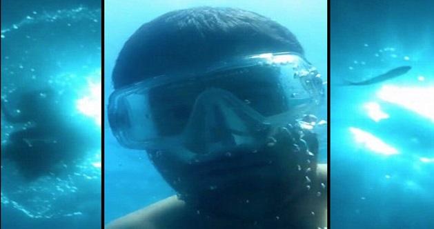 Iphone Lelaki Ini Terjatuh Ke Dalam Laut Dan Sempat Merakam Sesuatu Dari Dasar Laut