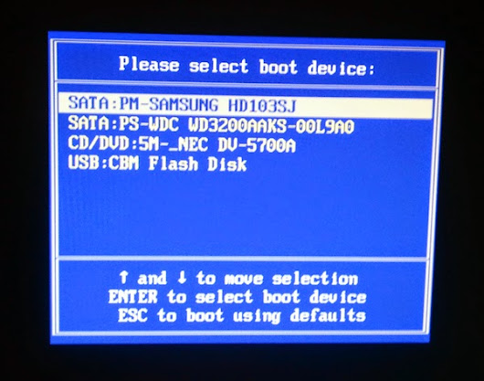 How to boot Kali Linux