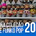 Minha coleção de Funko Pop