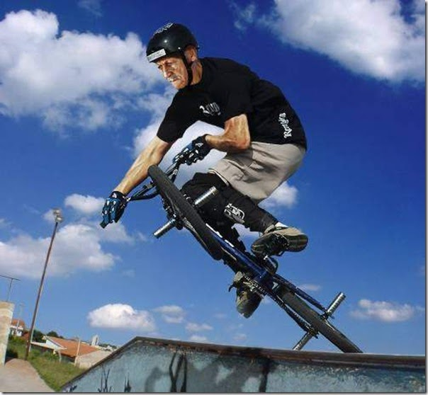 Extreme Funny Senior Citizen Sports Pictures