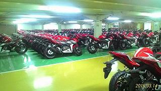 Honda CBR siap Distribusi
