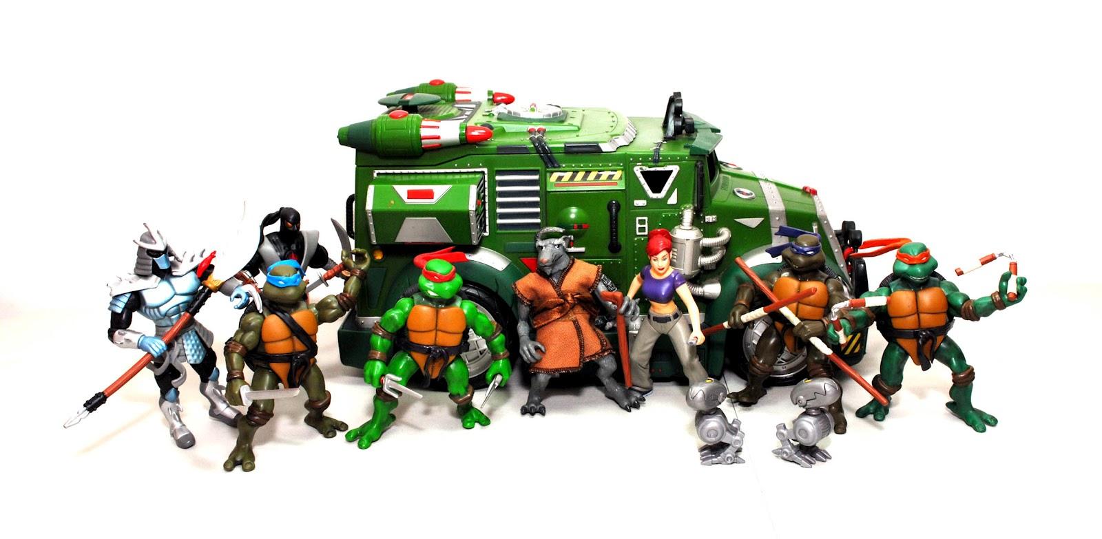 Teenage Mutant Ninja Turtles 2003 Toys : Saturday mornings forever teenage mutant ninja turtles
