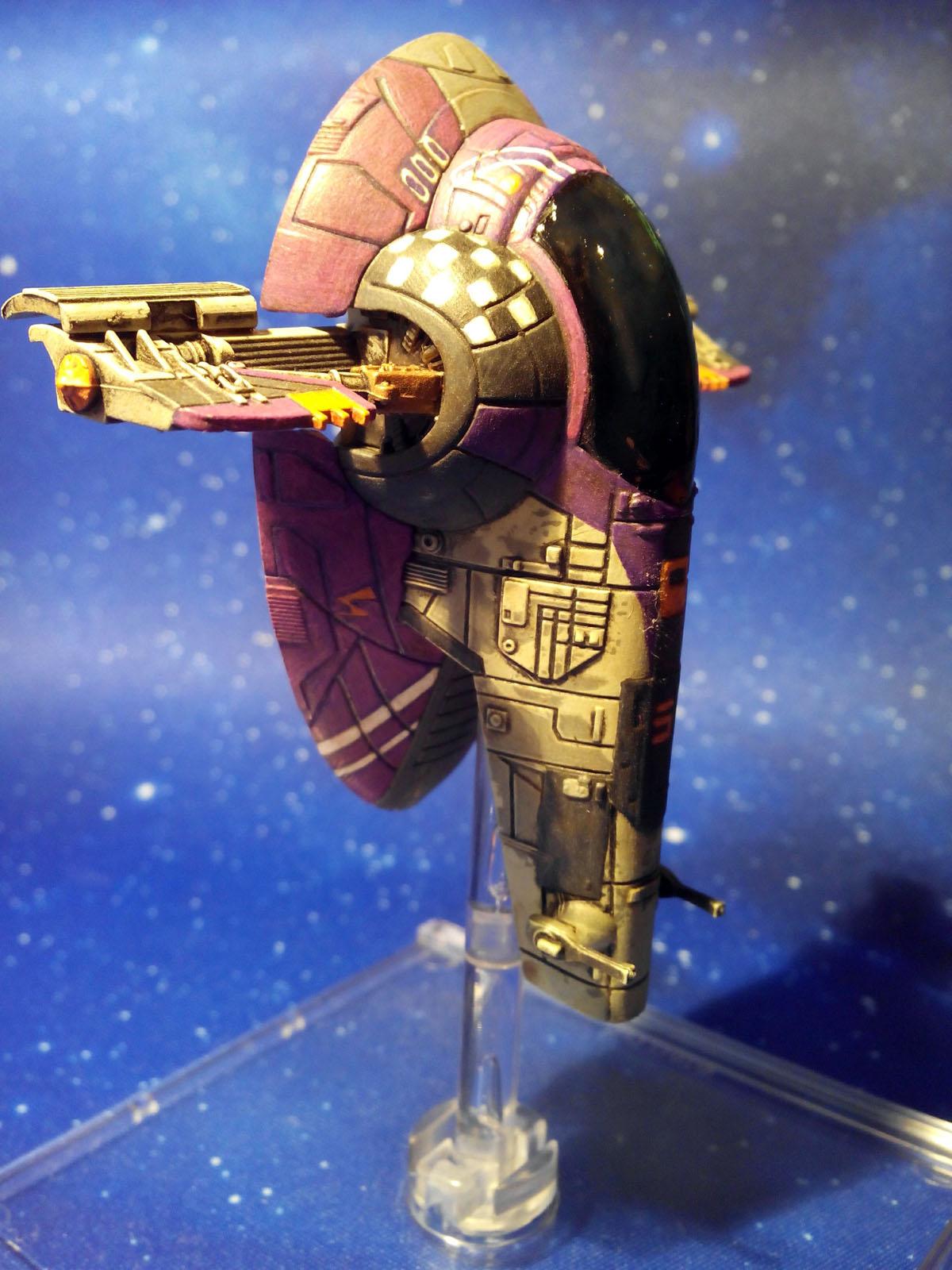 0d80881da8 El Firespray de Sabine supuso más trabajo del que acostumbro y estoy  dispuesto a dedicar a naves de X-Wing, pero Rebels me motiva muchísimo y me  lancé a ...