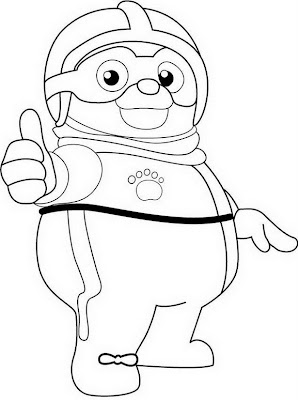 Special agent oso pages snow coloring pages for Oso coloring pages