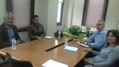 Συνάντηση της Δημάρχου Σουλίου με μέλη του Πολιτιστικού Συλλόγου Ελαταριάς