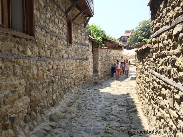 Calle medieval Nesebar