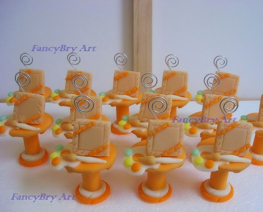 FancyBry Art: Alzatine portamemo bomboniere in pasta di ...
