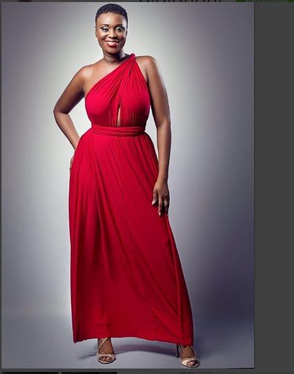 Intimidating! Ghanian Actress, Bibi Bright Shares Pantless and Braless Birthday Photos