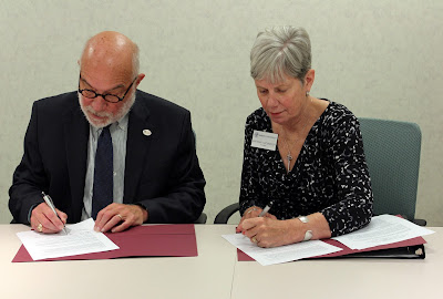 CCM and Drew University Sign Agreement Offering Scholarships to CCM Honor Students and Smooth Path to Attend Drew