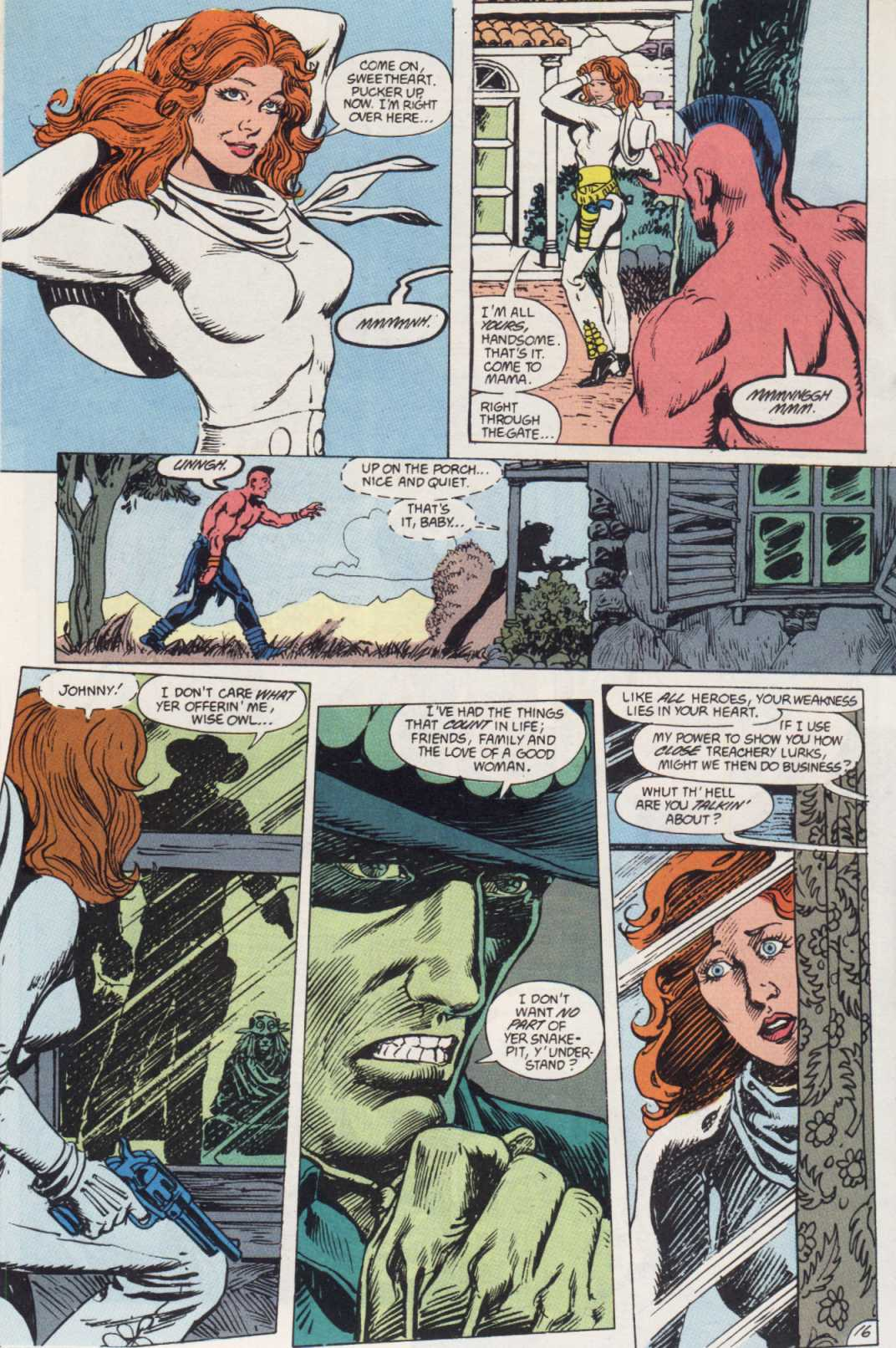 Swamp Thing (1982) Issue #85 #93 - English 16