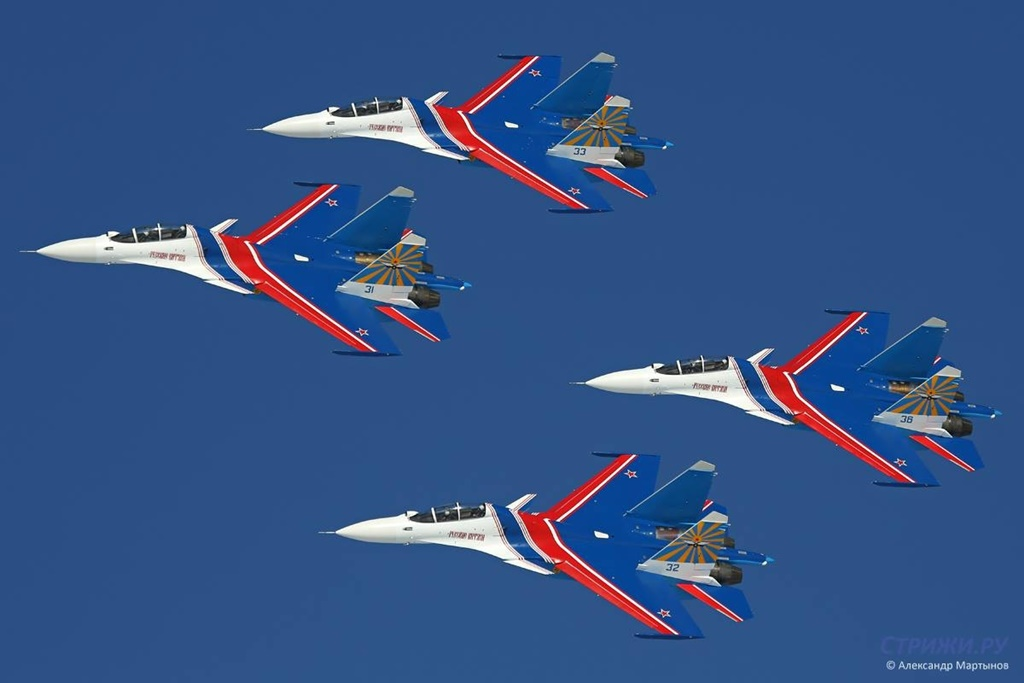 Russian Knights Show 92