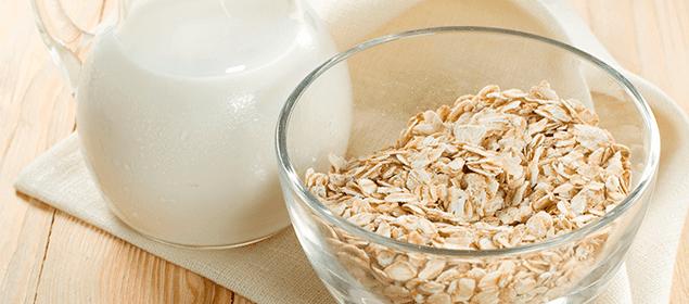 leche de avena contra el colesterol