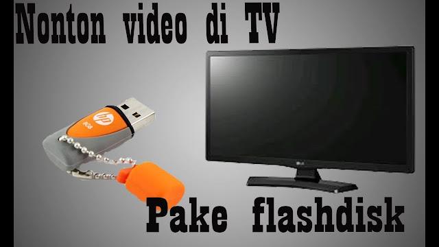 flashdisk tidak terbaca di tv led