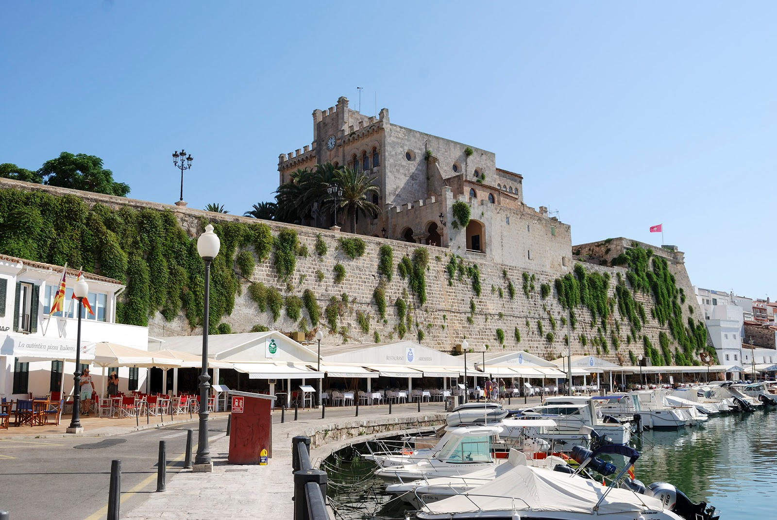 ciutadella menorca spain itinerary port what to do