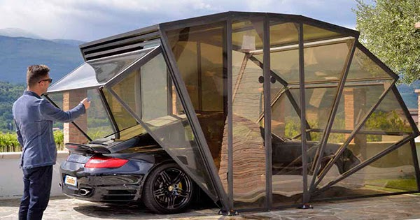 Gazebox A Multifunctional Garage Concept For Your Car