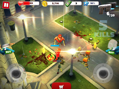 Zombiewood Mod Apk Unlimited Money