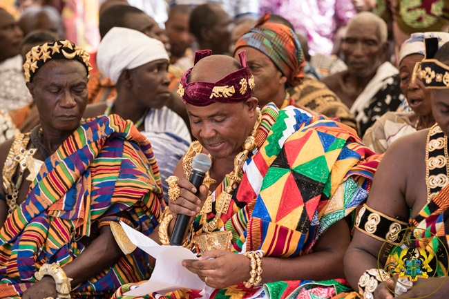 """""""We Are Witnesses Of Your Numerous Achievements"""" – Jasikan Chief To President Akufo-Addo"""