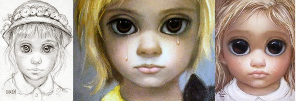 большие глаза почему