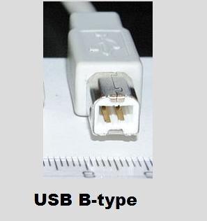 usb konektor tipe b