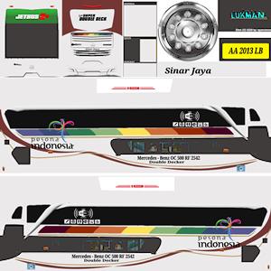 Livery Bussid Sinar Jaya New