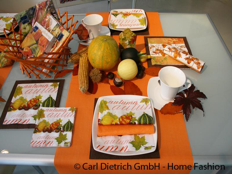 Home Fashion - Servietten Und Tischdekoration