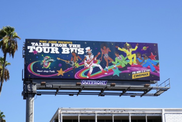 Tales from Tour Bus season 2 Funk billboard
