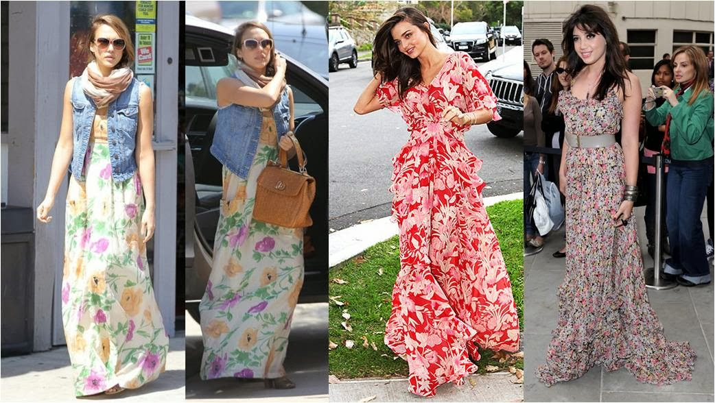 LadySpace: How To Wear Maxi Dress