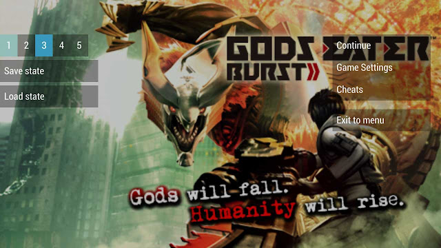 cara cheat game god eater burst