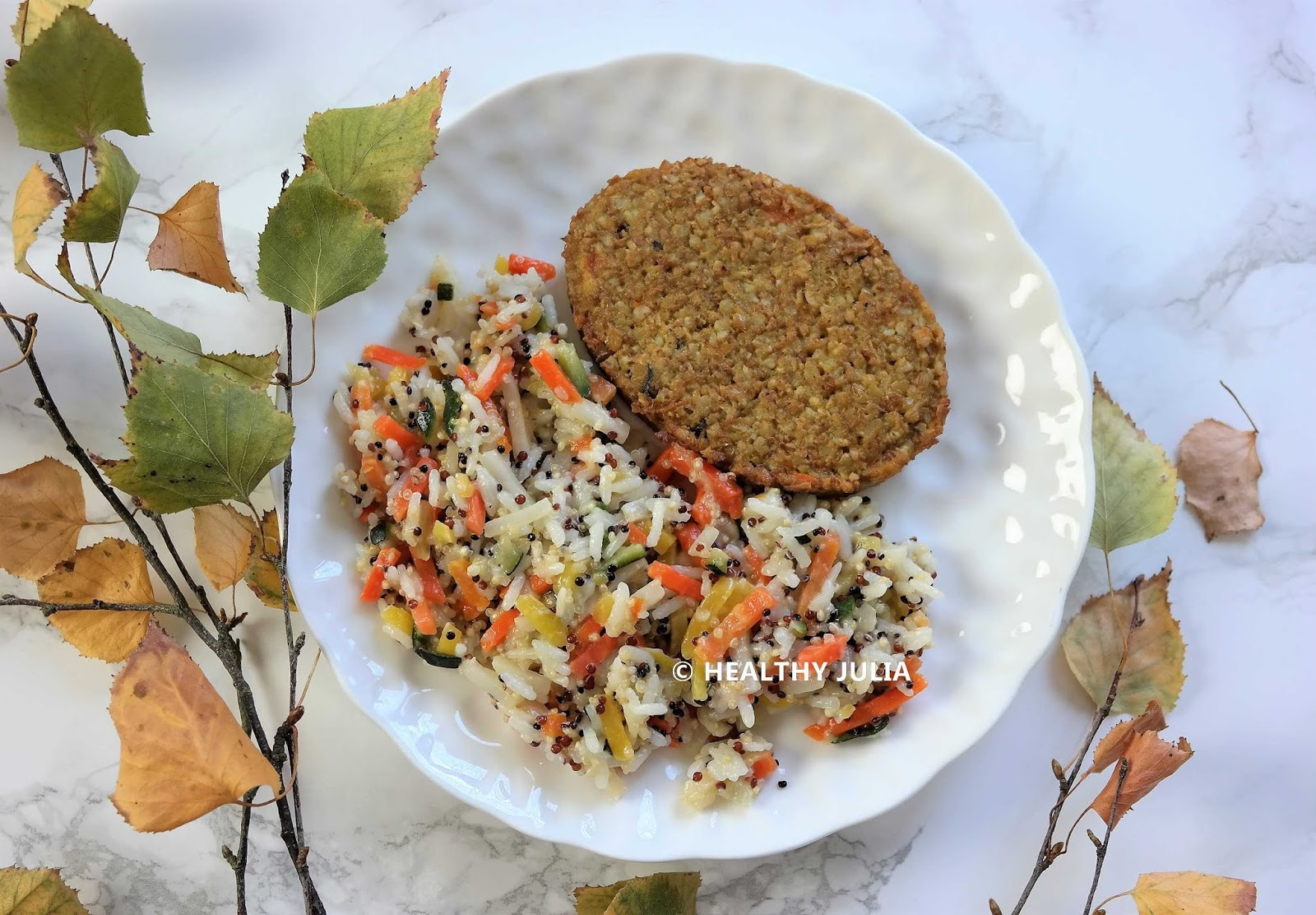 riz et quinoa vegan healthy julia
