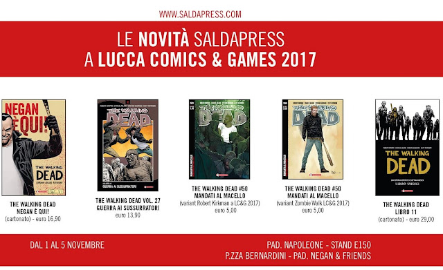 The Walking Dead: novità SaldaPress a Lucca