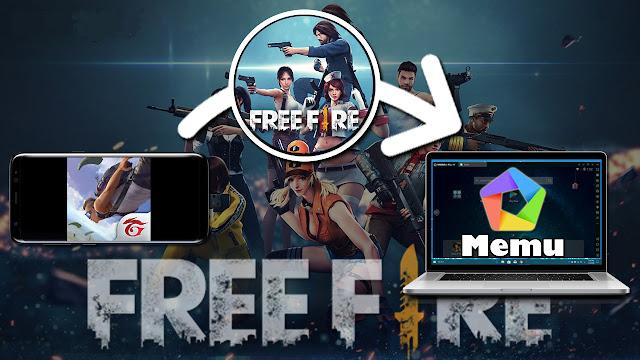 نسخ وتشغيل لعبة free fire من هاتف الاندرويد إلى محاكي الاندرويد memu