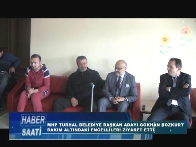 MHP TURHAL BELEDİYE BAŞKAN ADAYI GÖKHAN BOZKURT