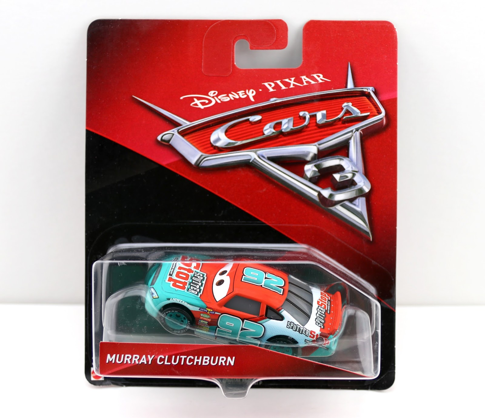 Cars 3 Murray Clutchburn (Sputter Stop)