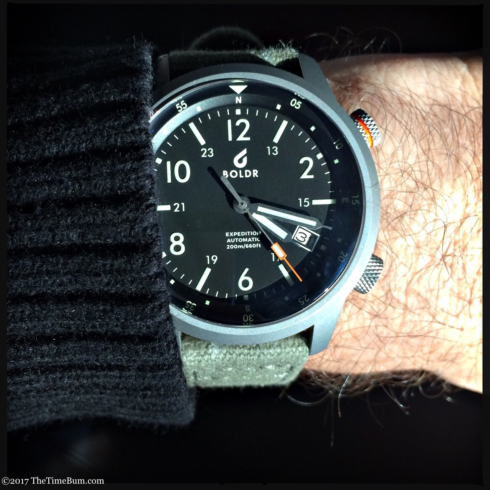 BOLDR Expedition Rushmore wrist