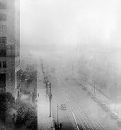 nor de smog in Los Angeles, 1943