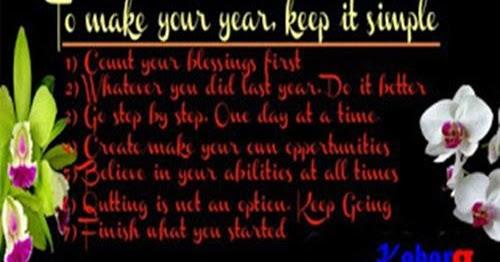 Kata Ucapan Selamat Tahun Baru Dalam Bahasa Inggris Dan