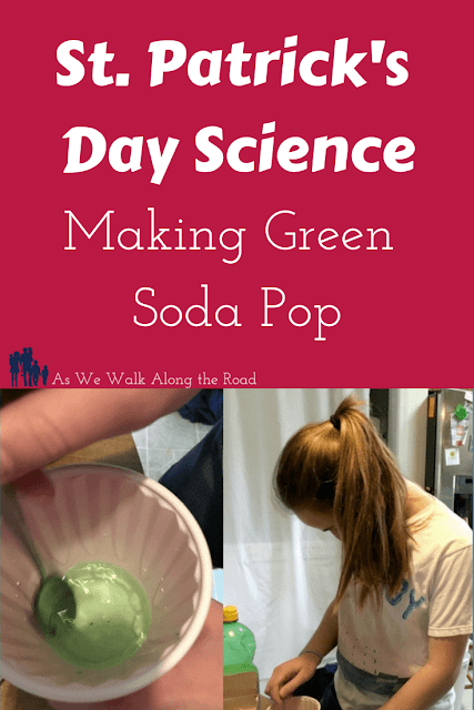 St. Patrick's Day science experiment