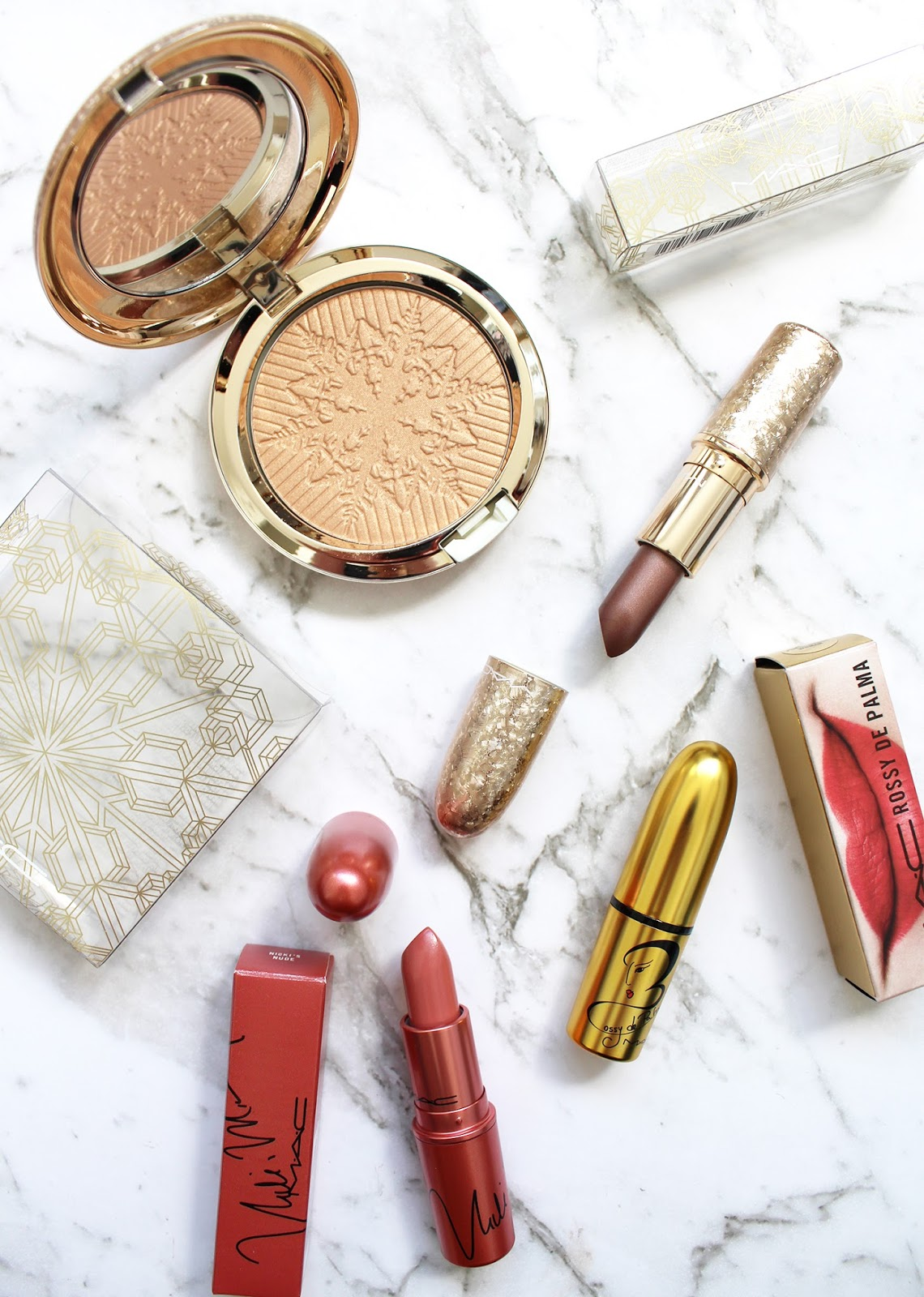 M.A.C | Haul - Holiday 2017 + Limited Edition Lipsticks - CassandraMyee