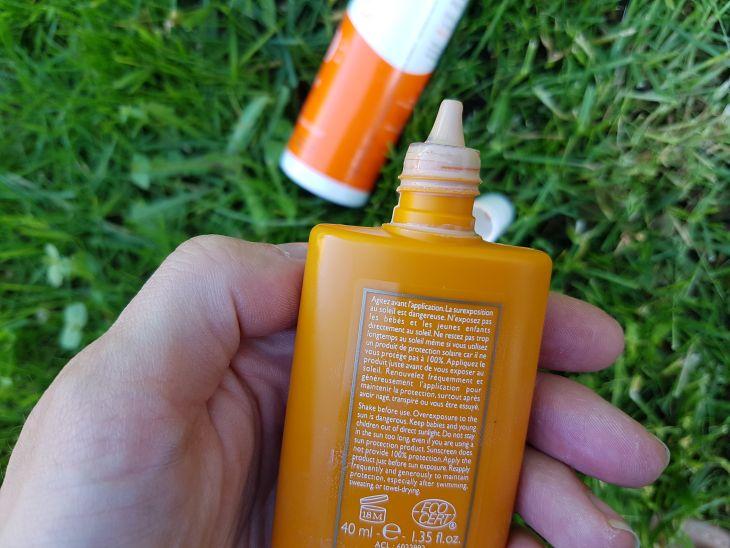 avis sur la crème solaire teintée de sanoflore