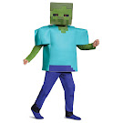 Minecraft Zombie Deluxe Costume Disguise Item