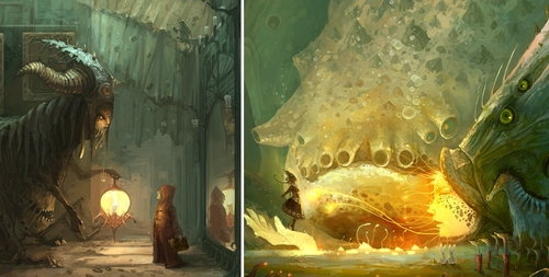 00-ZERG118-Dreams-Made-of-Fantasy-Worlds-and-Creature-Illustrations-www-designstack-co