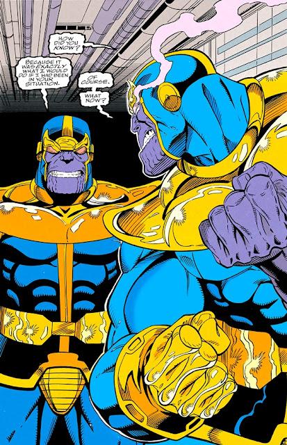 Thanos contra su doble