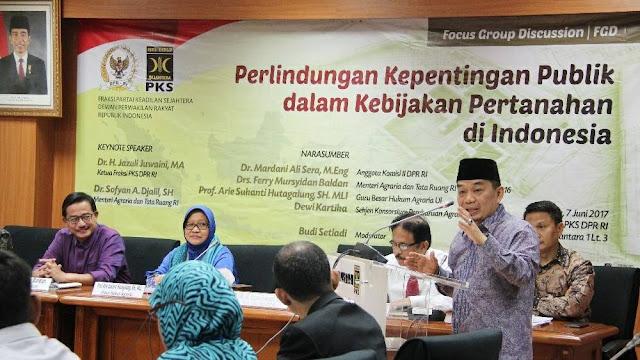Fraksi PKS Ingatkan Pemerintah Prioritaskan Kepentingan Publik dalam Kebijakan Pertanahan