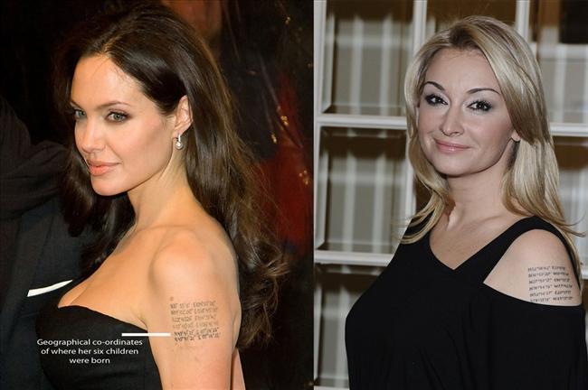 Wojciechowska Ma Taki Sam Tatuaż Jak Angelina Polski Blog