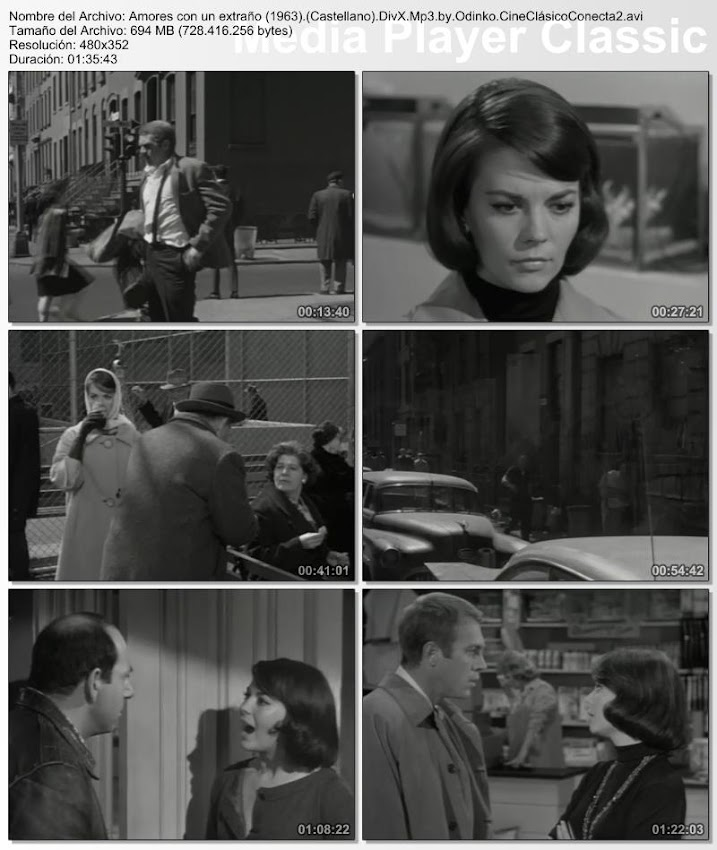 Amores con un extraño | 1963 | Love with the Proper Stranger