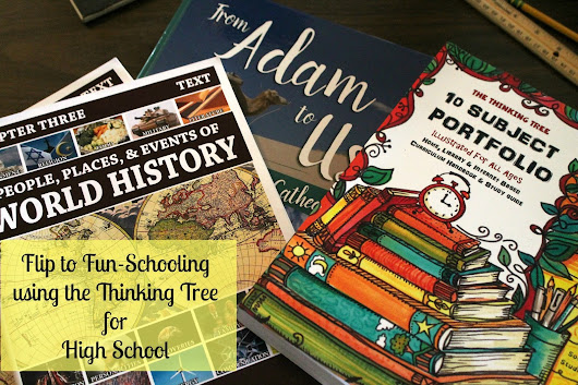 Flip to Fun-Schooling for High School using the Thinking Tree!!!