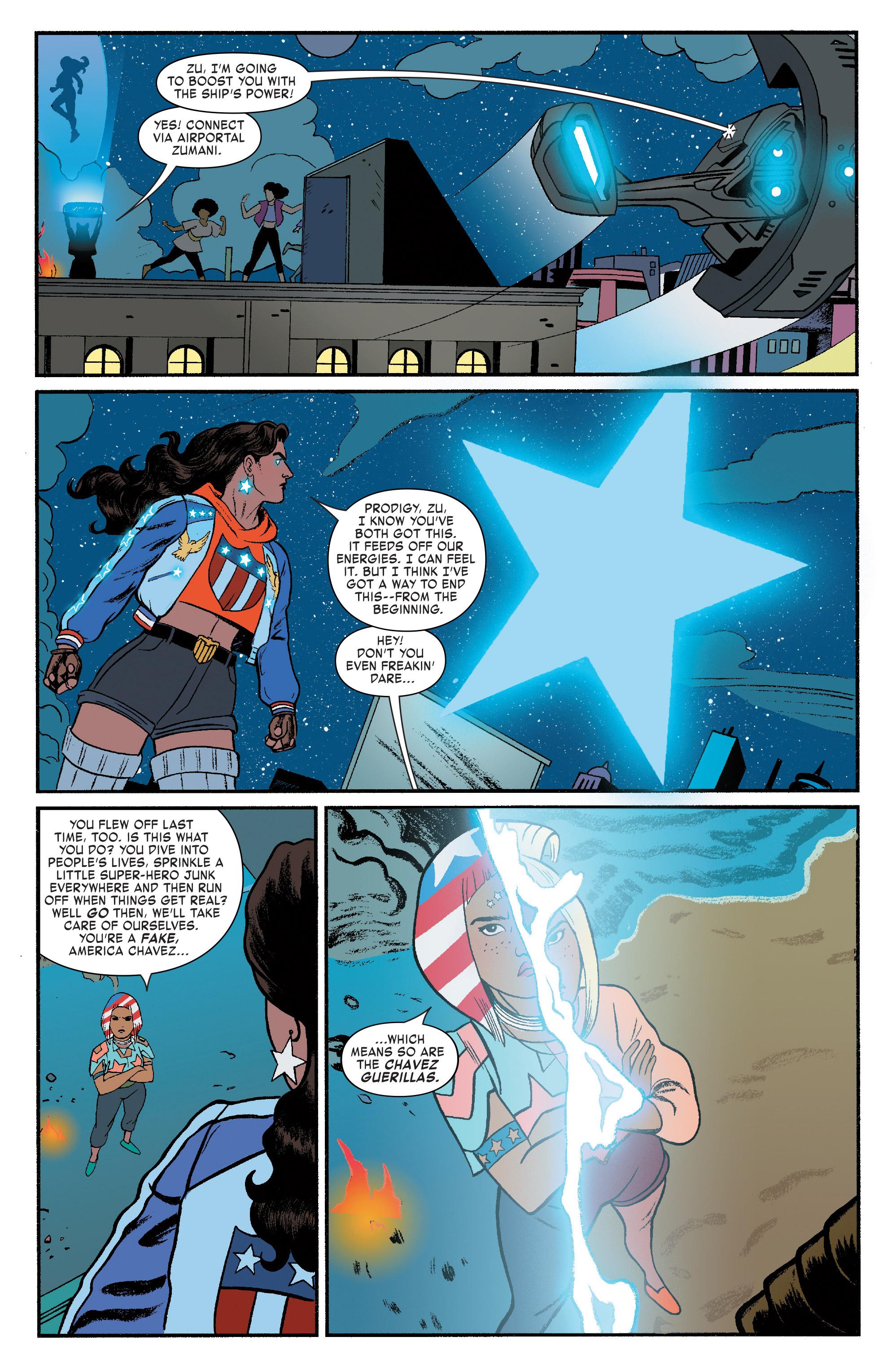 Read online America (2016) comic -  Issue #4 - 8