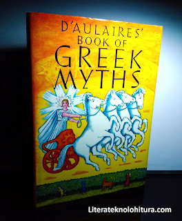 d'aulaire's book of greek myths front cover