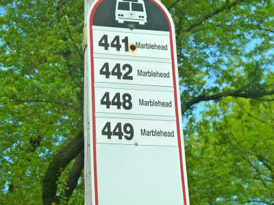Miles On The Mbta 441 442 Marblehead Wonderland